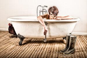 In der Badewanne - derferder.at